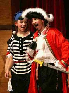 A CHRISTMAS PETER PAN!  A holiday musical play for kids to perform!  Arg!  Help Peter and Tinker Bell save Christmas from Captain Hook!