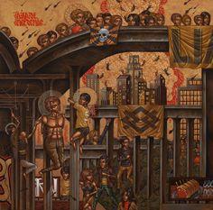 Stelios Faitakis | gazette inspiration collector / the blog http://gazette-ic.com/post/60542790648/steliosfaitakis #art #mural #urban