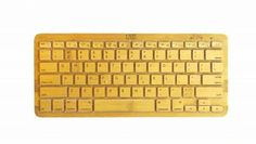 iZen handmade keyboard 92% bamboo via Treehugger
