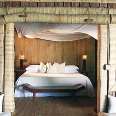 Mnemba Island Lodge: A haven for no more than 20 guests at a time, as well as a team of warm hospitable staff that inhabit this island, Mnemba is a private island with this very sole purpose - to make you feel as if you have fallen off the edge of the world and landed in your very own paradise.  Contact Timeless Africa Safaris to plan your luxury trip to Africa: info@tasafaris.com