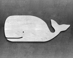 Any Size Long Whale wooden whale sign by MiaPreciousMemories