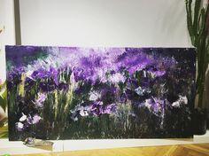 "59 aprecieri, 1 comentarii - BMR -🎨 painter (@bogdanmihairadu) pe Instagram: ""What dreams may come #mywork #contemporaryart #modernart #motivation #purple #colors #flowers…"" Abstract Painting, Abstract, Painting"