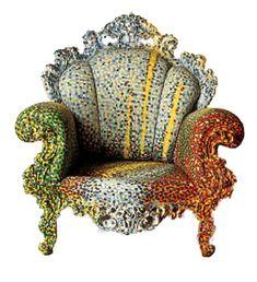 fauteuil proust d'alessandro mendini