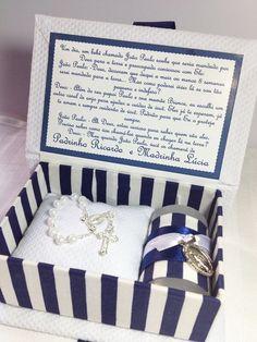 Lembrancinha de batizado para padrinhos personalizada de acordo com a proposta.    Pode ser utilizada para outras ocasiões também. R$ 55,00