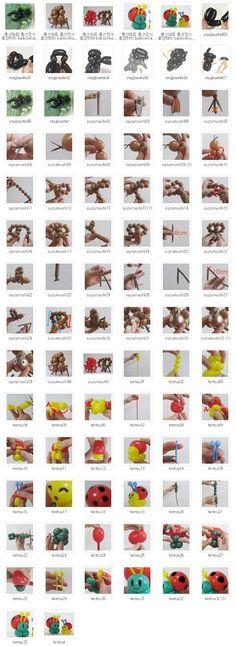 풍선하하 balloonhaha ㅡ 원본 사진 ㅡ 큰 사진은 이메일로 보내드립니다 ㅡ : 풍선아트 풍선장식 풍선하하 balloonhaha 교육용 099 풍선 곤충