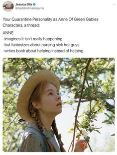 Which Anne of Green Gables Character best fits your quarantine personality? Lm Montgomery, Orphan Girl, Pretty Star, Anne Shirley, Cuthbert, Anne Of Green Gables, Children's Literature, Writing A Book, Childrens Books