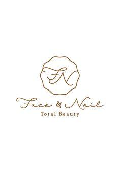 Face and Nail Total Beauty Logos, Typography Logo, Logo Branding, Branding Design, Label Design, Logo Inspiration, Japanese Branding, Nail Logo, Logo Samples
