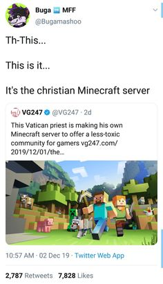 *takes the whole lot of links for vines for good Christian minecraft servers from my purse* My time has Come Dankest Memes, Funny Memes, Hilarious, Jokes, Minecraft Memes, My Guy, Tumblr Funny, Funny Posts, Laugh Out Loud