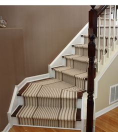 Wrought Iron Banister Stairs See deck railing ideas http://awoodrailing.com