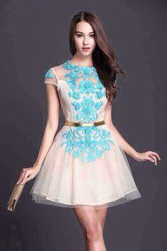 White dress ,lace skirt