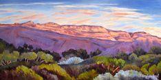 Ojai landscape art Panoramic print mountain wall | Etsy Landscape Artwork, Landscape Prints, Mountain Art, Mountain Landscape, Land Scape, Canvas Art, Painting Canvas, Canvas Prints, Giclee Print