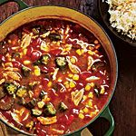 Crab and Vegetable Gumbo Recipe | MyRecipes.com