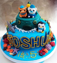 octonauts cake - Google Search