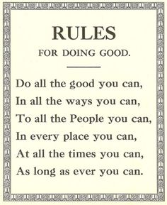 Rules for doing good.  #earthfootwear #worldofgood