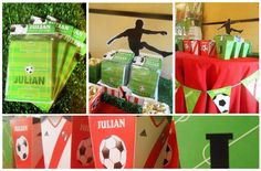 Soccer birthday party!  See more party ideas at CatchMyParty.com!    #boybirthday