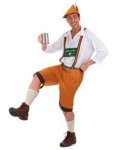 Oktoberfest Birra Fest Bavarese Uomo Costume a maniche lunghe T-Shirt S