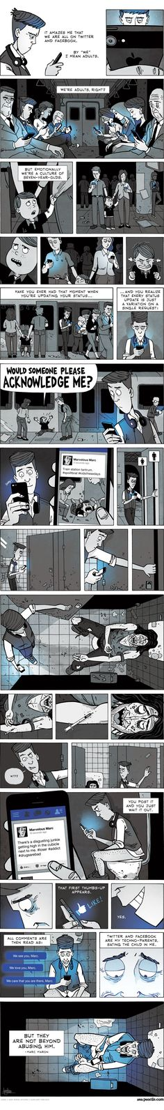 Every Social Media User Must Read This Little Comic. And I Mean EVERYONE!