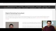 The importance of Blogging | Digital Marketing Consultant - YouTube