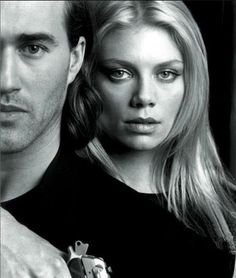 Peta Wilson and Roy Dupuis - La Femme Nikita. Michael and Nikita-The original actors, unless you count the movies in which cases all versions of Michael and Nikita ever made. Best Tv Shows, Best Shows Ever, Favorite Tv Shows, Movies And Tv Shows, Nikita Tv Show, Roy Dupuis, Peta Wilson, Nostalgia, Old Shows