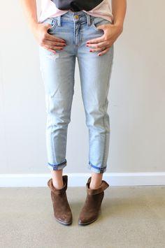Level 99 Sarah Tomboy #level99 #jeans #boyfriend #tomboy #denim #distressed #fakingitflawless #theboutique #love #fashion #style