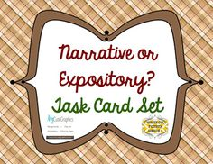 Personal Narrative Writing vs. Expository Writing FREEBIE from Write On, Fourth Grade!