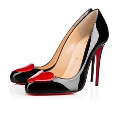 christian louboutin 120mm argotik patent leather pumps