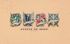 DeviantArt: More Like Shingeki no Kyojin : Survey Corps Badge Wallpaper by Attack On Titan Tattoo, Attack On Titan Art, Attack On Titan Aesthetic, Mikasa, Tous Les Anime, Tribute Tattoos, Anime Tattoos, Bro Tattoos, Wallpaper Pc