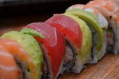 Rainbow Roll - Sushi love love love this roll!!!