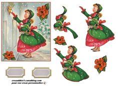 fillette et hibiscus