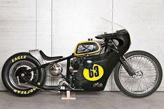 Dragstar SVS650 built by Garage Built Bikes of Denmark
