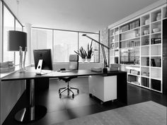 ... Bedroom Beauteous Home Office Decorating Eas Layout Good Looking Modern Office Workspace Picture Style Modern Furniture ...