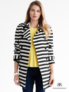 Spring 2013- Striped trench
