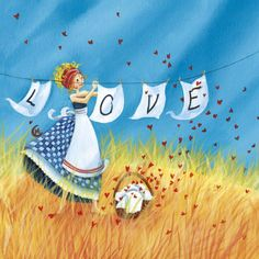 Love by Marie Cardouat. I say, hang it out for the world to enjoy.