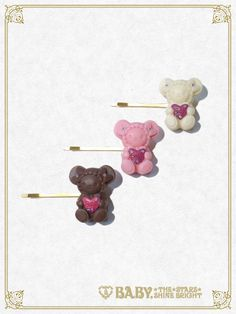 Baby, the stars shine bright Kumya chan's Love Love Valentine hair pin