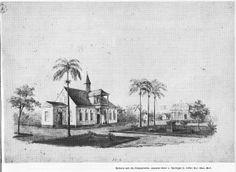 Leprakolonie Batavia aan de Coppename (Suriname). Peerke Donders heeft hier jarenlang gewerkt tussen de verbannen leprapatiënten.