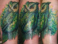 http://tattoomagz.com/green-tattoos/green-tattoo-watercolor-owl/