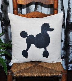 poodle pillow posted by Redlandspoodles.com