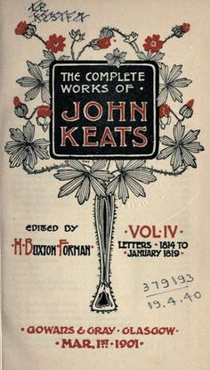 Complete works of John Keats