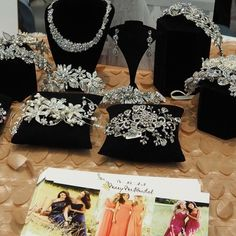 Beautiful #tiaras from #marymebridal at #PremierBridalShows