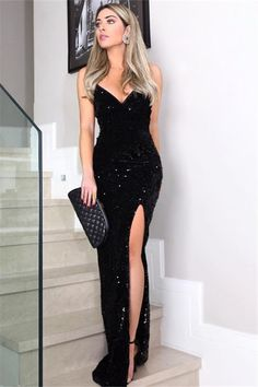New Arrival Sexy Sleeveless Spaghetti Straps Black Prom Dress Bling Evening Gown Mermaid Evening Dresses Prom Dresses Black Mermaid Prom Dress Sexy Prom Dress Evening Dresses Black Prom Dresses 2020 Long Prom Dresses Uk, Sequin Evening Dresses, Formal Dresses, Black Sequin Prom Dress, Black Sequins, Wedding Dresses, Bling Dress, Summer Dresses, Dress Prom