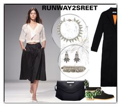 """""""Runway2street"""" by runway2street ❤ liked on Polyvore featuring Ksenia Schnaider, Anouki and Tataborello"""