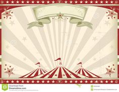 Horizontal Vintage Circus - Download From Over 30 Million High Quality Stock Photos, Images, Vectors. Sign up for FREE today. Image: 40529483