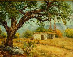 pintura de paisaje acrilico - Buscar con Google