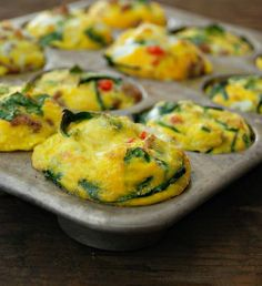 Southwest Spicy Egg Muffins #MultiplyDelicious