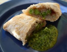Samosa - Olive oil in Indian food? Absolutely!