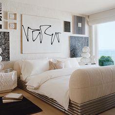 Bedroom Inspo, Home Bedroom, Master Bedroom, Bedrooms, Bedroom Inspiration, Bedroom Ideas, Nate Berkus, Kelly Wearstler, Vintage Market