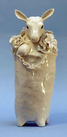 Sophie Woodrow. Ceramic. deer