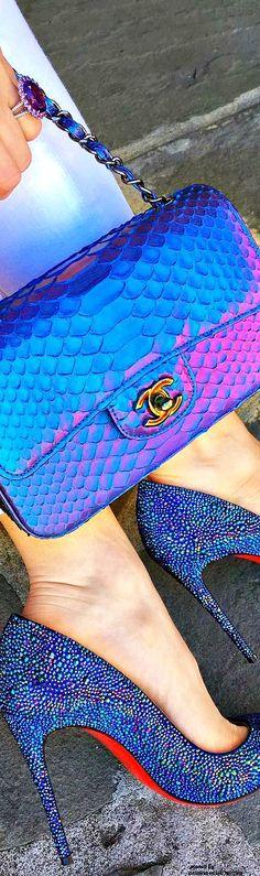 Chanel Bag Louboutins