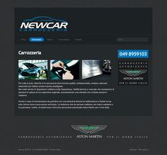 Newcar - Sito internet BtoC #web #design #car #automotive