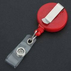 Retractable-Key-Ring-ID-Card-keychain-Holder-Reels-Badge-Plastic-Metal-Belt-Clip
